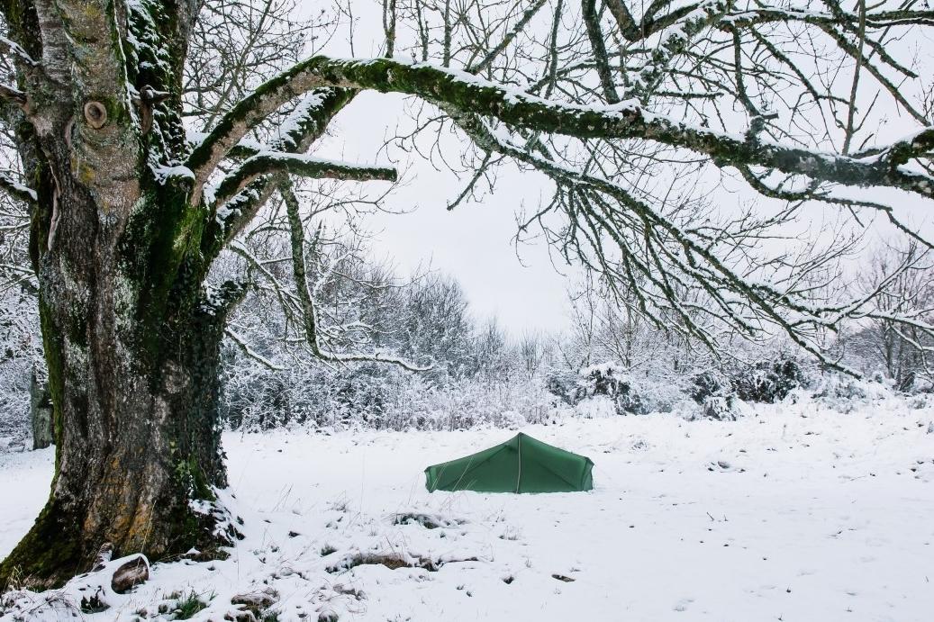 winterkamperen op ons natuurkampeerterrein