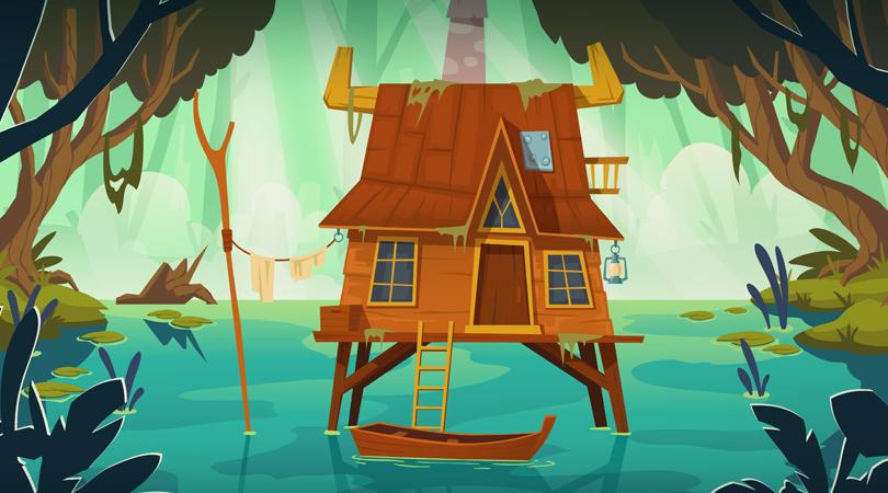 Verhalenvertelweek - Huisje in het moeras