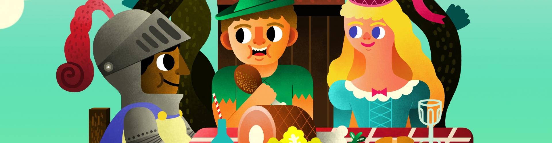 Lesmateriaal Smakelijke Sprookjes - Theatra