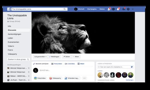 unstoppable mindset facebook groep