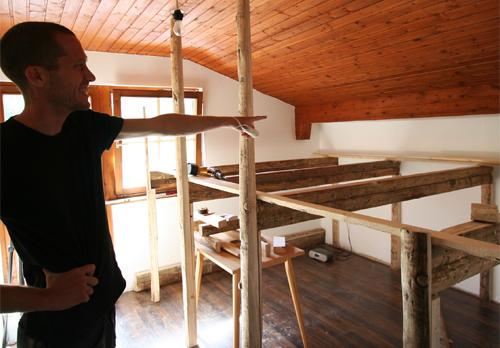 Matratzenlager de Berghut Rauris Oostenrijk