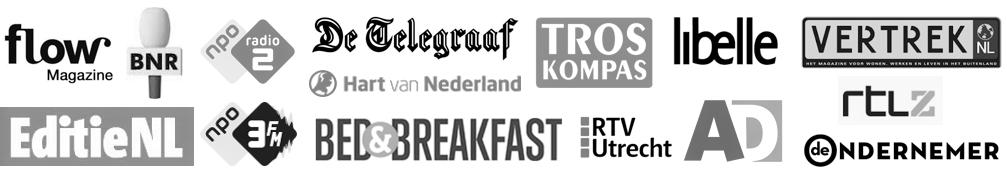 in de media DroomplekAcademie Hans en Nel Ik Vertrek tips B&B hotel camping