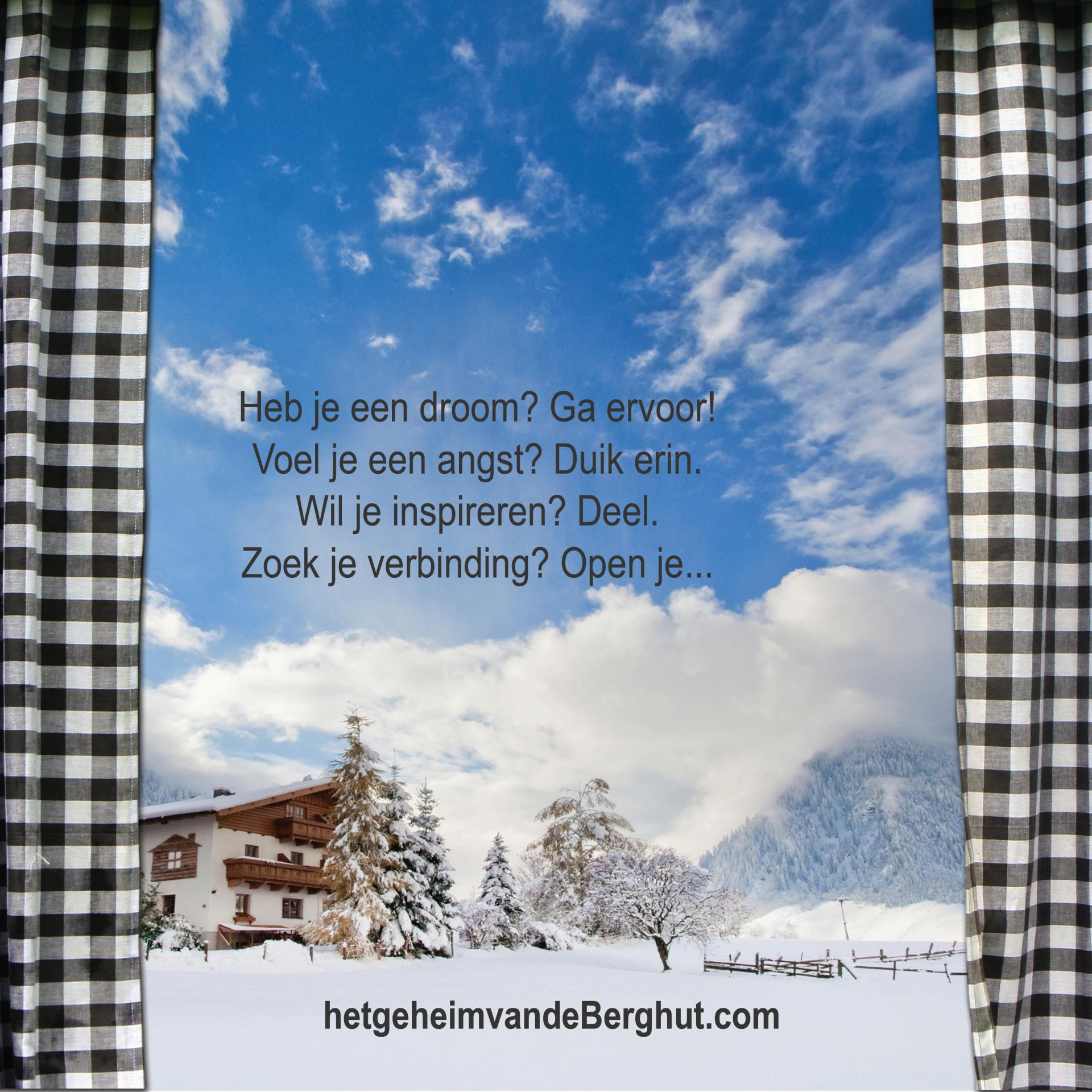 het geheim van de Berghut droomplekgeluk boek B&B starten camping hotel vakantiewoningen ondernemingsplan stappenplan