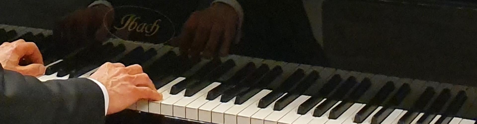 Pianoles van Hans