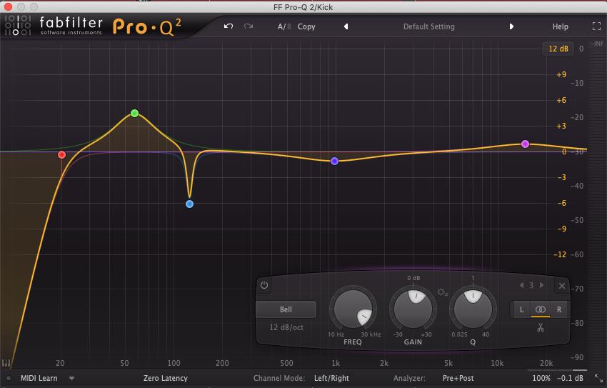 parametric EQ music production