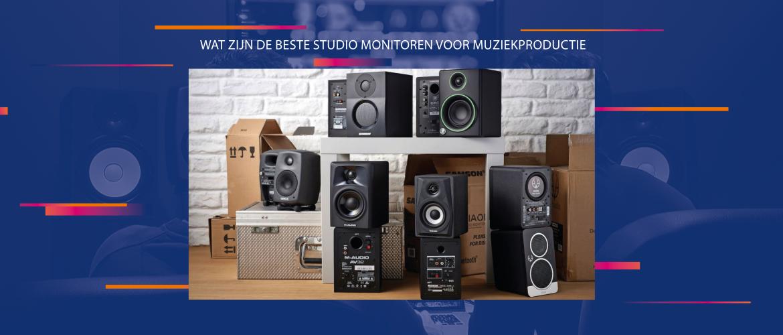 Wat zijn de beste studio monitoren voor het produceren van muziek?