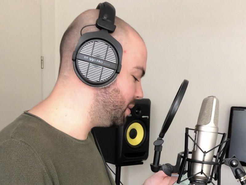 Leren hoe je je eigen vocalen kan opnemen voor je eigen track?