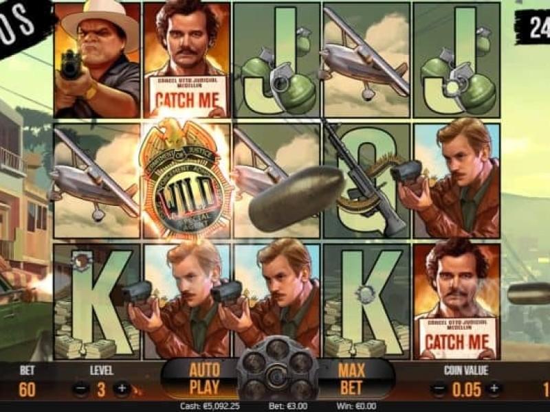 NARCOS videoslot online preview van het spel