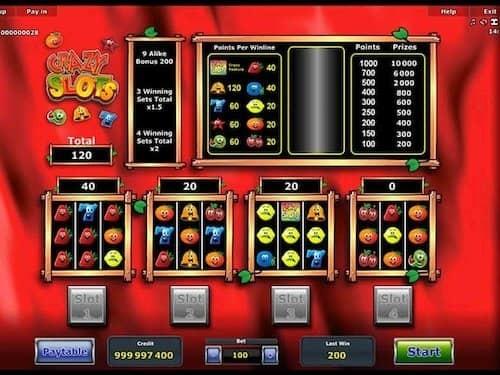 Crazy Slots spelen online