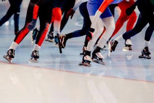 Gokken op schaatsen