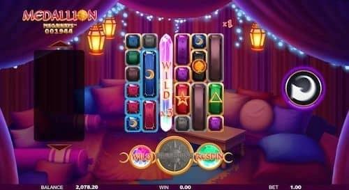 Medallion Megaways online spelen
