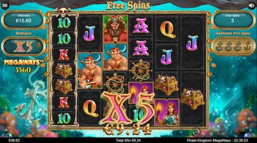 Pirate Kingdom Megaways spel spelen