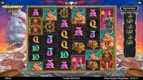 Pirate Kingdom Megaways spelen