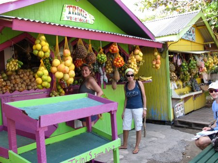 Boodschappen doen in de Caribbean