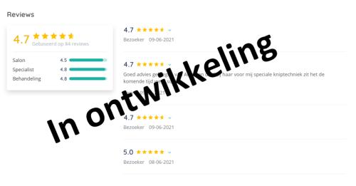 Reviews met Da Vinci Salonsoftware