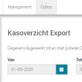 export naar boekhoudprogramma