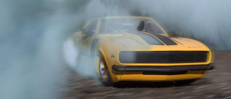 Auto stinkt tijdens auto rijden