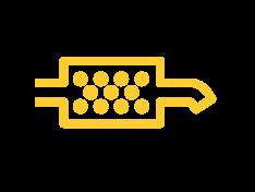 Dashboardlampje roetfilter