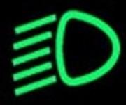 groene dashboardlampjes - dimlicht