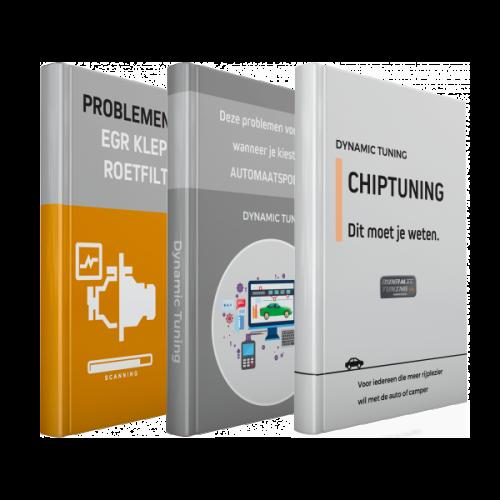 Ebooks chiptuning, automaatspoeling, roetfilter en EGR Klep