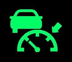 groene dashboardlampjes - adaptieve cruise control
