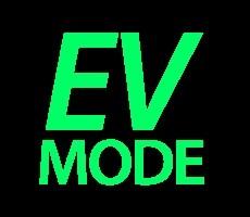 groene dashboardlampjes - EV-mode 2