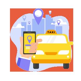 Spatscherm taxi, bedrijfswagen, bestelbus