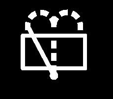 witte dashboardlampjes - ruitensproeiervloeistof achter laag