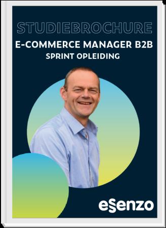 studiebrochure E-commerce B2B sprintopleiding