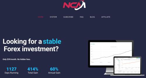 Robot Trading via NCM Signal