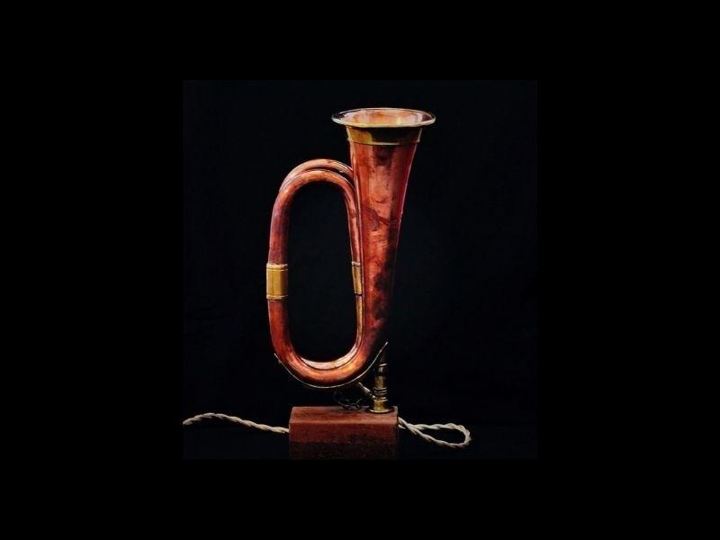 trompet lamp