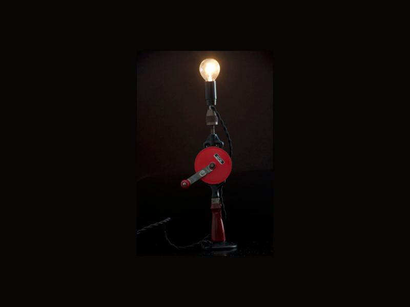handboor schroder lamp