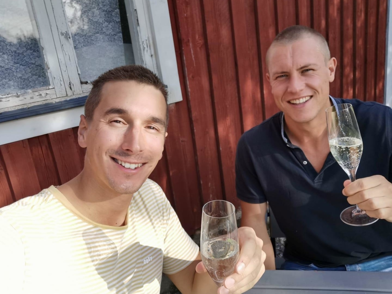 Bart en Rogier