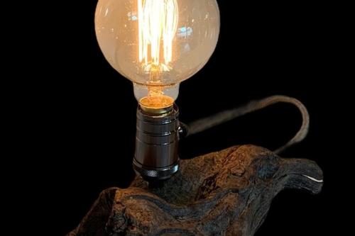 drijfhoutlampje