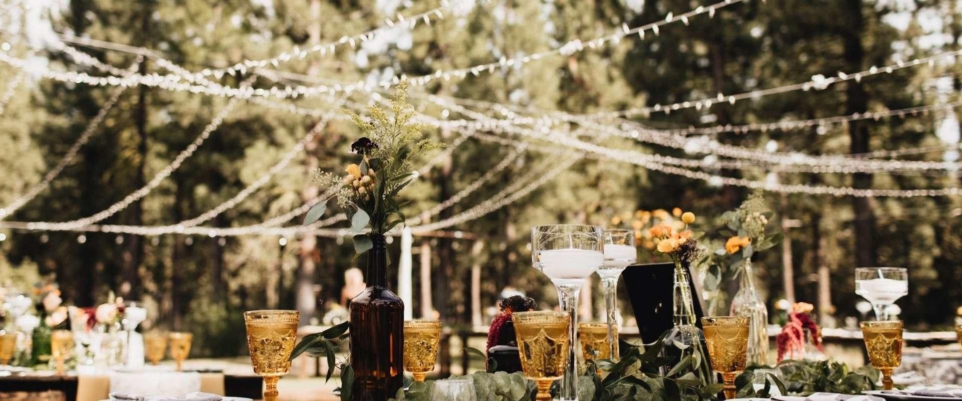 Ecologische bruiloft vieren met Kirsch events!
