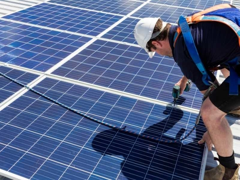 zonnepanelen opbrengst per m2