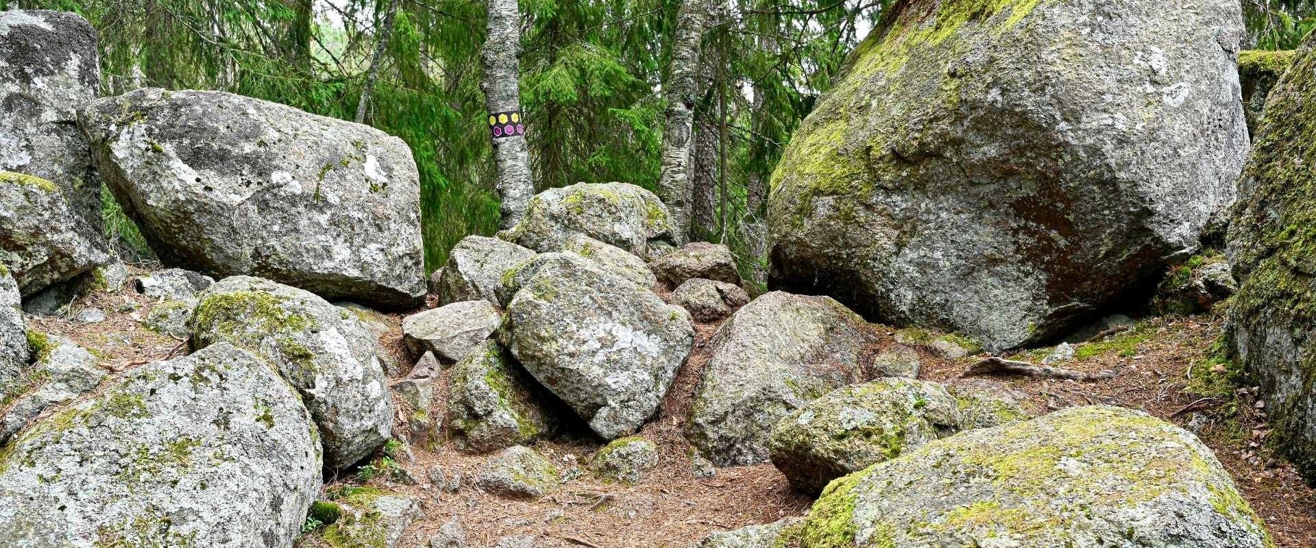 In Zweden wonen met de Legende van de boze reuzen