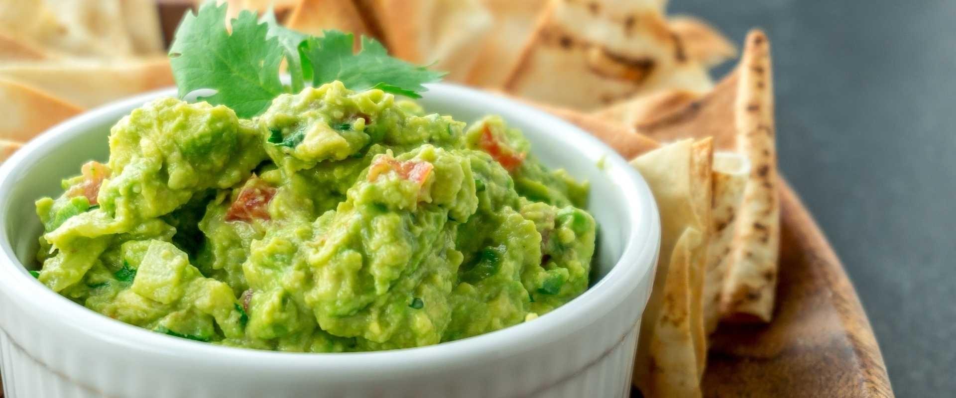 Recept guacamole dip