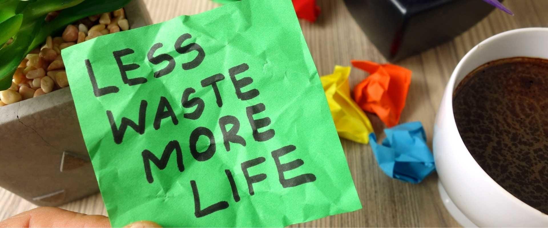 #Minder afval produceren; 20 tips!