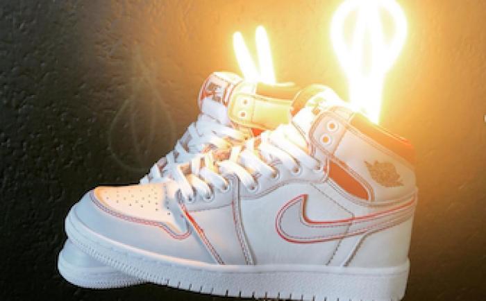 sneaker lamp