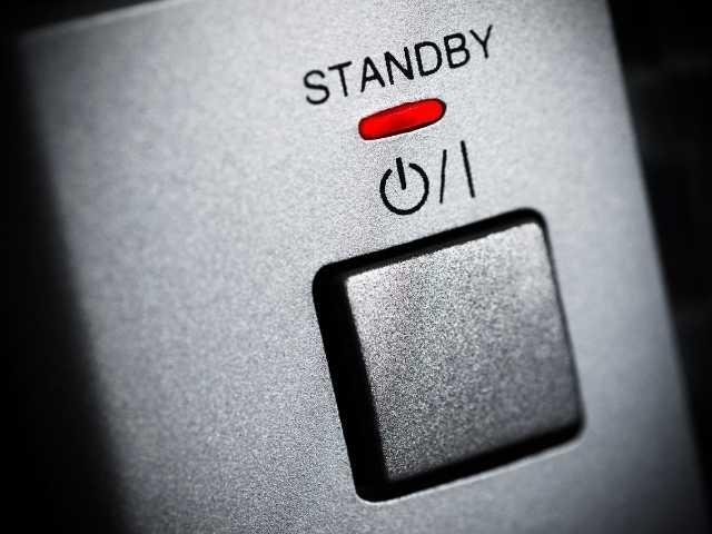 standby modus uitzetten