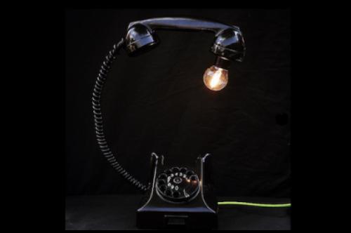 telefoonlamp