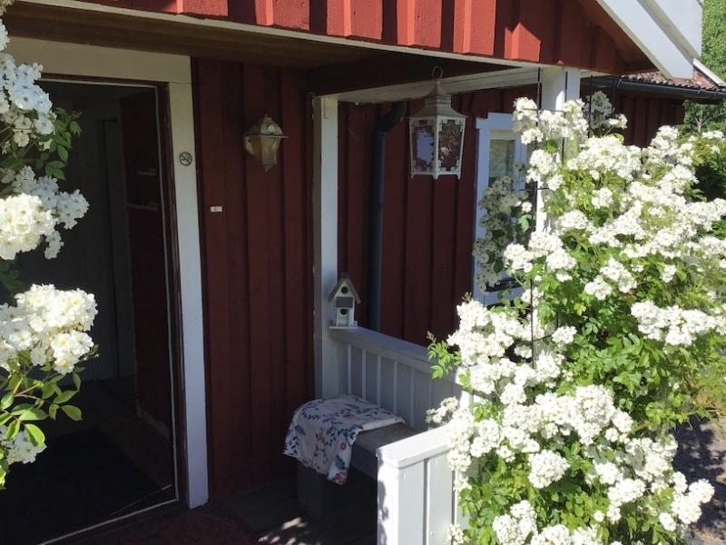 voordeur Zweden vakantiehuis huren