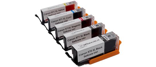 Canon 570 Eetbare Inkt cartridges set