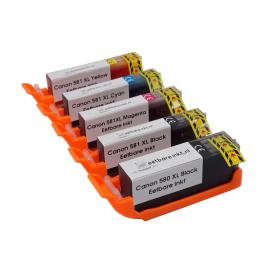 Canon 580-581 Eetbare Inkt Set Cartridges