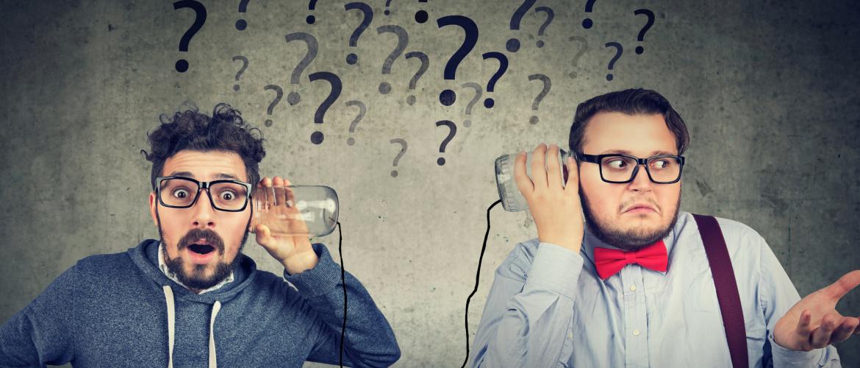 Hoe communiceer je efficiënt met elkaar? Een uitdaging!