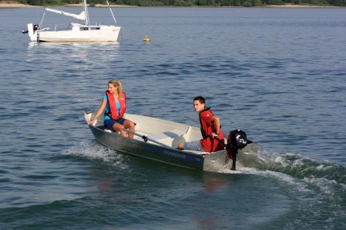 Marine 12M aluminium visboot | E-VC