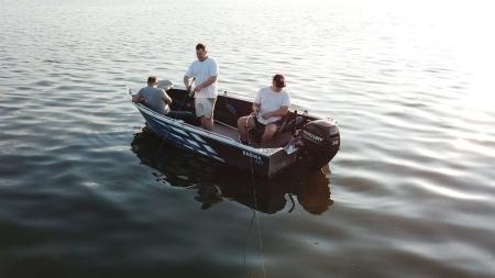 Brema 450 aluminium visboot | Elektrisch Varen Centrum