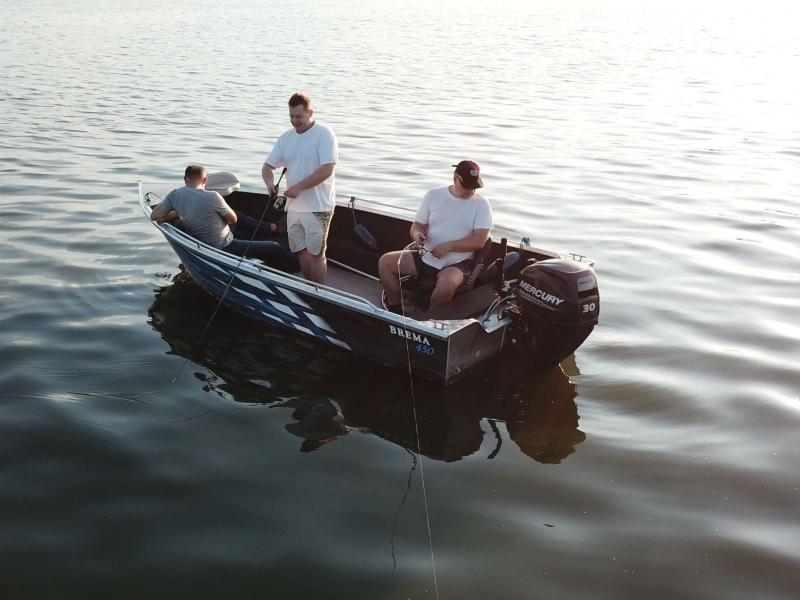 Brema 450 aluminium visboot