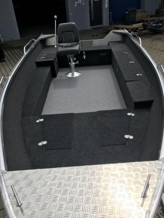 Brema 390 aluminium visboot | Elektrisch Varen Centrum